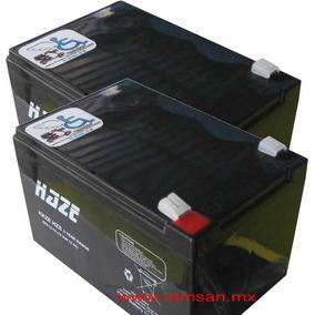 Par De Baterias 12v X 12 Amp Silla De Ruedas Electrica Patin