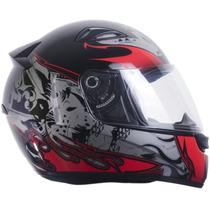 Capacete Esportivo Moto Ebf Antialérgico Dragão Tamanho 60