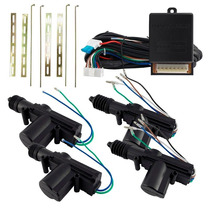 Kit Trava Eletrica 4 Portas Tr410 Dupla Universal Carro