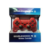 Joystick Double Shock Ps3 Playstation 3 Bluetooth - No Dice