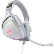 Auricular Gamer Asus Rog Delta White Pro Quad-dac Rgb Usb-c