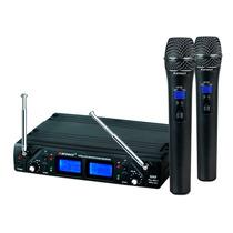 Microfone Sem Fio Karsect Kru 362 Uhf M Duplo Kru362 Digital