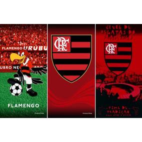 2e5d548d23 Total 3 Toalhas Banho praia Futebol Flamengo.oficial.