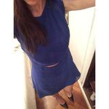 Vestido Naima Azul Electrico Talle M