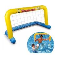 Arco De Futbol Para Pileta Water Polo Oferta Incluye Pelota