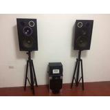 Equipos De Sonido Parlantes Subwoofers Amplificadores 3qf