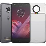 Smartphone Motorola Moto Z2 Play Polaroid Edition - Platinum