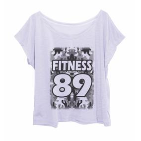 Blusa Feminina Estampada Plus Size Camuflada Fit 89 Cinza
