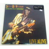 Vinilo Stevie Ray Vaughan - Live Alive - Envío Gratis