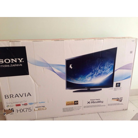 Televisor Sony Bravia 46 Led Y 3d Modelo Hx75