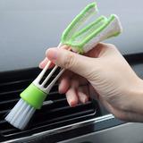Cepillo Detallador 2 En 1 Limpia Ventilas A/c Auto Detallado