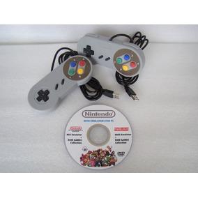 2 Controles + 1 Pc Dvd: Nintendo Super Nintendo Neo-geo