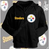 Sudadera Steelers Sudaderas Nfl Sudadera Acereros Zipper