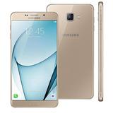 Samsung Galaxy A9 Dourado 32gb Barato De Vitrine.