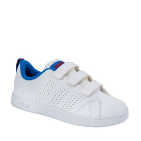 adidas vs adv cl cmf c zapatillas unisex niños blanco