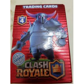 Cartas Clash Royale Serie 4. De 457 A 488. + Chapita Redonda