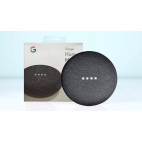 Caixa De Som Speaker Google Home Mini Charcoal Wi-fi Preta
