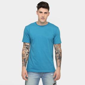 Camisa Masculina Lisas 100% Algodão Promocional