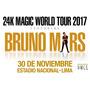 Entradas Bruno Mars En Lima, Cancha 1 Derecha