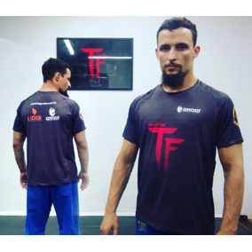 Camiseta Jiu-jitsu - Tf Jiu-jitsu - Helanca Dry