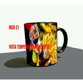 Taza Magica 3d Goku Super Sayayin 3 Sheng Long Dragon Ball Z