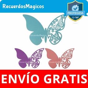 25 Mariposas Corazones Colibries De Papel Invitaciones Boda