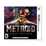 Metroid Samus Returns Nintendo 3ds Nuevo Y Sellado