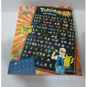 Pide Tu Descuento! Rompecabezas Pokémon Año 2000