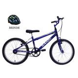 Bicicleta Aro 20 Masculina Menino Muttant Said-x C/ Rodinhas