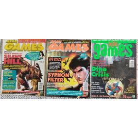 Lote Revistas Ação Games - 14 Edições