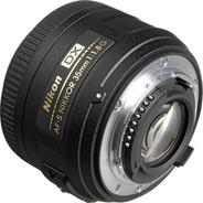 Lente Nikon Af-s Dx 35 Mm F/1.8g