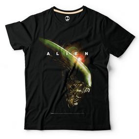Alien | Remera 100% Alg. | Craneo Remeras De Cine
