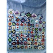 Lote De 84 Tazos Coleccionables Angry Birds