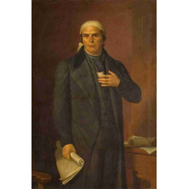 Lienzo Tela Retrato General Jose María Morelos 60 X 45 Cm