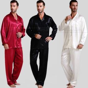 Pijama Elegante De Caballero, Elaborada En Seda.