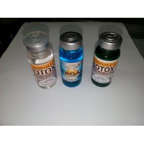 Ampollas Ambarina (argan, Botox Y Botox Con Sábila)