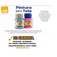 Pintura Tela Ad Eterna Acrilex 40ml Kit X10 Colores Glitter