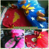 Disfraz Superheroinas Niña