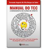 Manual Do Tcc: A Monografia No Curso De Direito