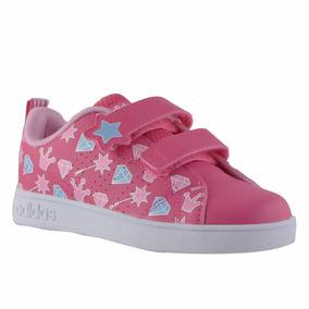 Zapatillas adidas Vs Adv Bebes Rosa