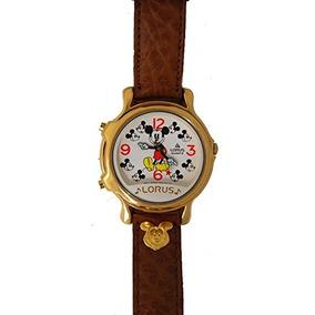 Mickey Mouse Reloj Musical Lorus Rcw002 Dos Melodías