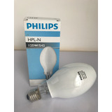 Lampada Vapor Mercurio Ovoide 125w E27 Hpln125w/542-philips