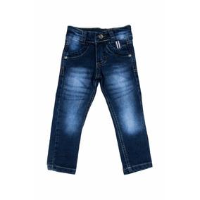 Calça Jeans Bebê Meninos Masculino Tamanhos 1-2-3 Anos