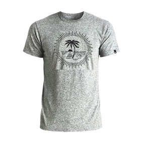 Remera Hombre Mc Palm Rays Quiksilver 28102051cgr