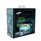 Samsung Ssg-p2100t Batería 3-d Kit De Cristal - Negro (comp