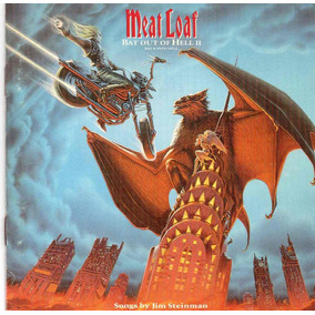 Meat Loaf Bat Out Of Hell 2 Usa Cd Mca 1993 !