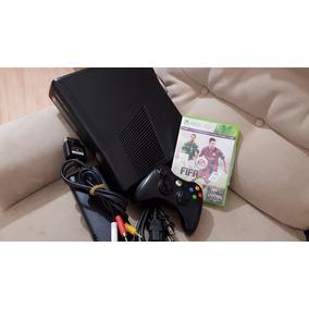 Remato Xbox 360 Slim 250gb Fifa 15 + Juegos En Disco Duro Ch