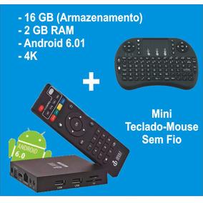 Smart Tv Box Infokit Android 6.0,2gb,16gb,4k + Teclado S/fio