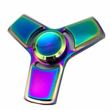 Fidget Hand Spinner Finger Toy Anti Metal Arco Iris