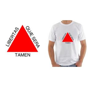 Camiseta Camisa Masculina Bandeira Estado Minas Gerias Mg